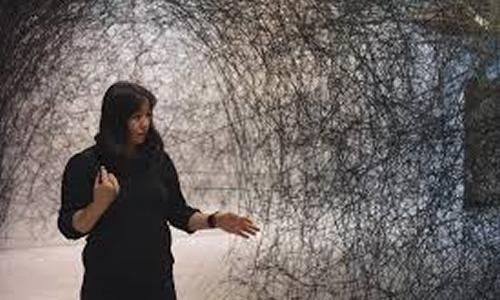 Exposição Linhas da Vida | Chiharu Shiota | CCBB SP