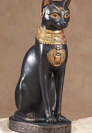 Desenhar uma deusa Egípcia –  A deusa Gato