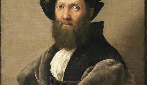 O Retrato de Baldassar Castiglione, Rafael Sanzio