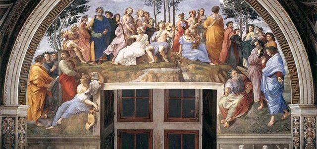 O Parnaso, Rafael Sanzio
